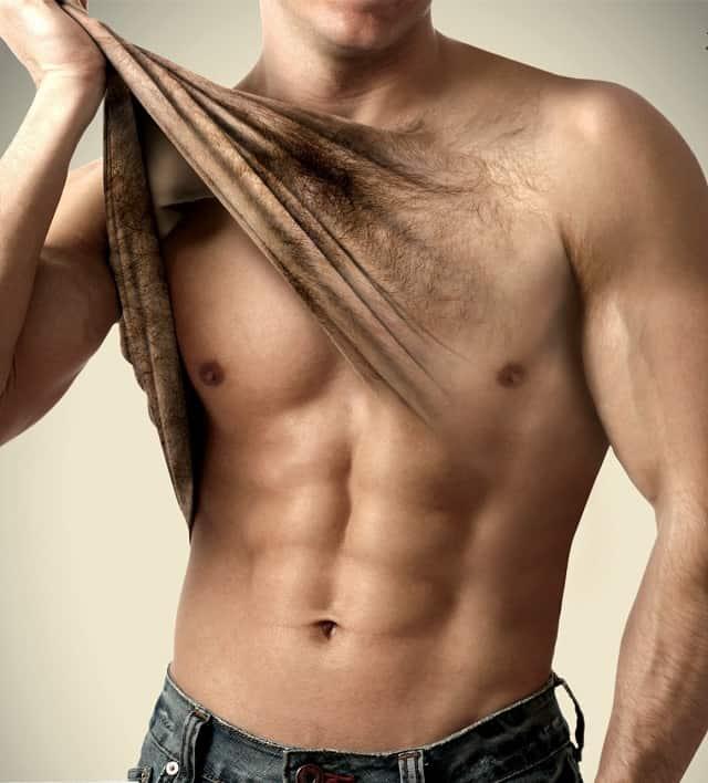 لیزر موهای زائد آقایان