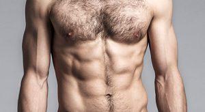 پرمویی بدن مردان